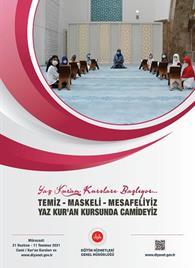 2021 Yaz Kur'an Kursu Afişleri